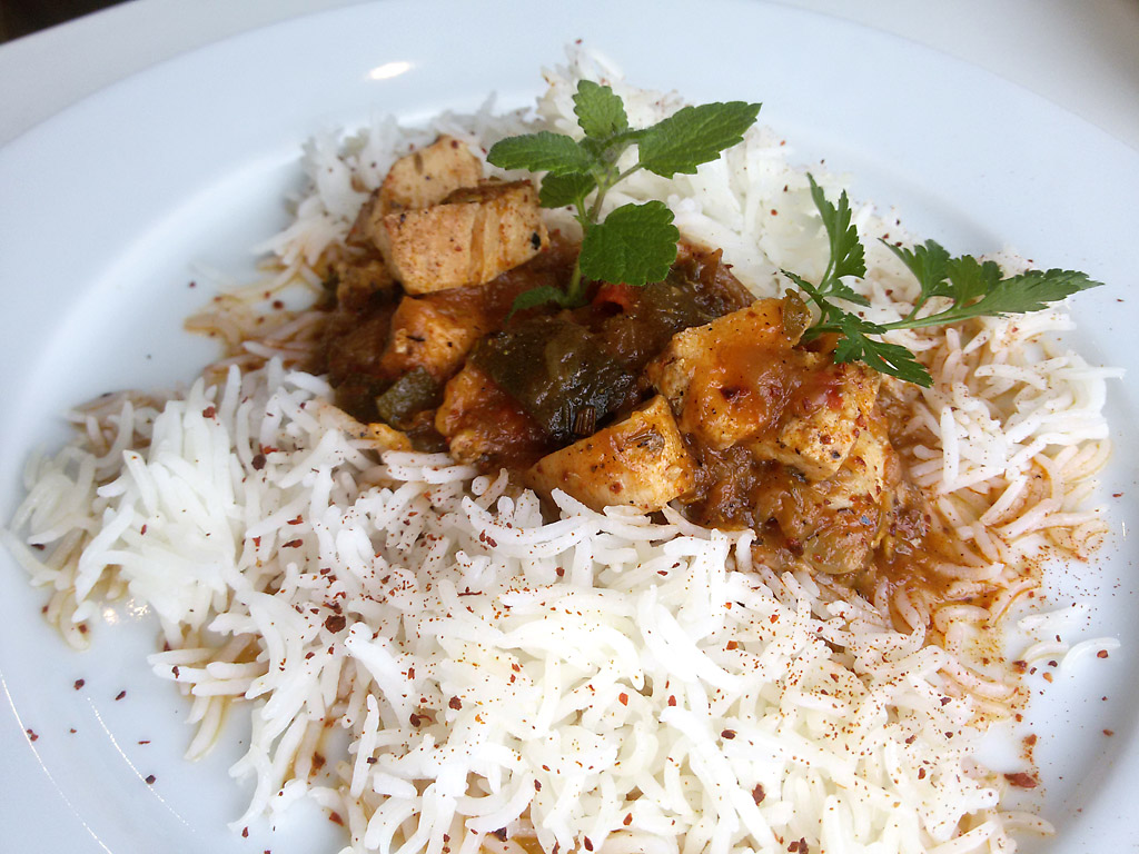Endlich, nach vielen Versuchen, der Basmati-Reis wird was . . .