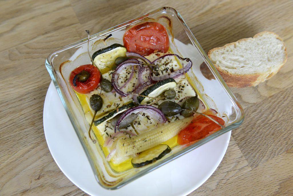 Petzis Garten und Küche: Heißer Käs (Feta)