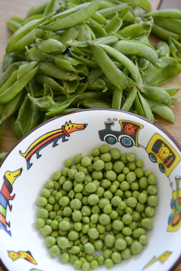 Petzis Garten und Küche: Erbsen sind zum Essen bereit: Erbsensuppe